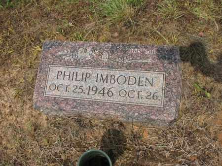 IMBODEN, PHILIP - Cross County, Arkansas   PHILIP IMBODEN - Arkansas Gravestone Photos