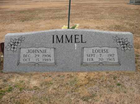 IMMEL, LOUISE - Cross County, Arkansas | LOUISE IMMEL - Arkansas Gravestone Photos