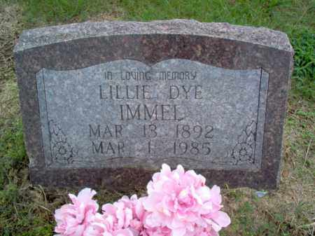 IMMEL, LILLIE - Cross County, Arkansas | LILLIE IMMEL - Arkansas Gravestone Photos