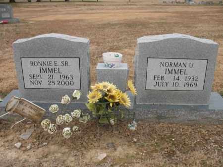 IMMEL, NORMAN U - Cross County, Arkansas   NORMAN U IMMEL - Arkansas Gravestone Photos