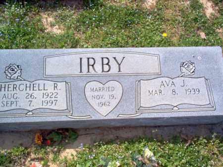 IRBY, HERCHELL R - Cross County, Arkansas | HERCHELL R IRBY - Arkansas Gravestone Photos