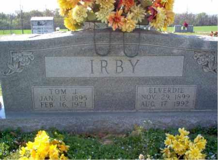 IRBY, TOM J - Cross County, Arkansas | TOM J IRBY - Arkansas Gravestone Photos