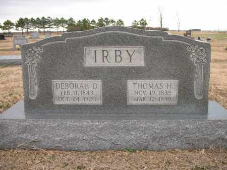 IRBY, DEBORAH D - Cross County, Arkansas | DEBORAH D IRBY - Arkansas Gravestone Photos