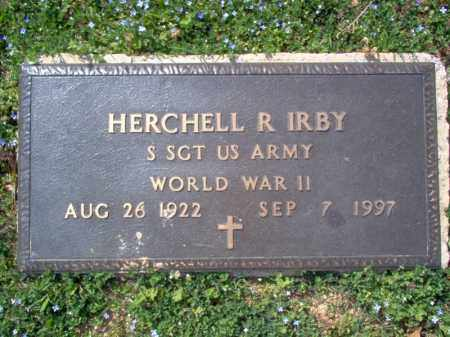 IRBY (VETERAN WWII), HERCHELL R - Cross County, Arkansas | HERCHELL R IRBY (VETERAN WWII) - Arkansas Gravestone Photos