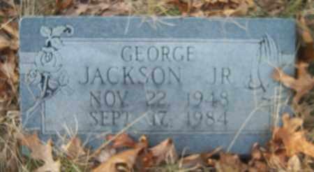 JACKSON, JR, GEORGE - Cross County, Arkansas   GEORGE JACKSON, JR - Arkansas Gravestone Photos
