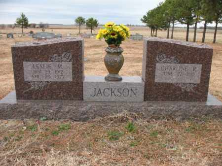 JACKSON, LESLIE M - Cross County, Arkansas | LESLIE M JACKSON - Arkansas Gravestone Photos