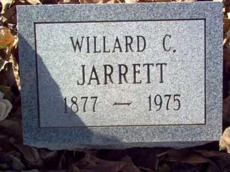 JARRETT, WILLARD C - Cross County, Arkansas   WILLARD C JARRETT - Arkansas Gravestone Photos