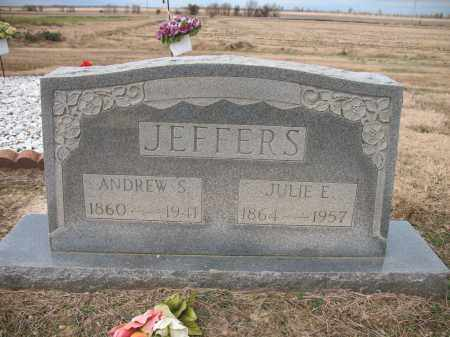 JEFFERS, JULIE E - Cross County, Arkansas | JULIE E JEFFERS - Arkansas Gravestone Photos