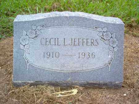 JEFFERS, CECIL L - Cross County, Arkansas | CECIL L JEFFERS - Arkansas Gravestone Photos