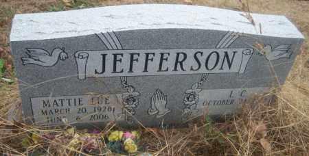 JEFFERSON, MATTIE LUE - Cross County, Arkansas | MATTIE LUE JEFFERSON - Arkansas Gravestone Photos