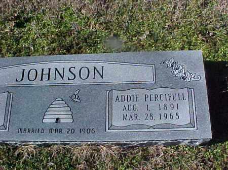 PERCIFULL JOHNSON, ADDIE - Cross County, Arkansas   ADDIE PERCIFULL JOHNSON - Arkansas Gravestone Photos