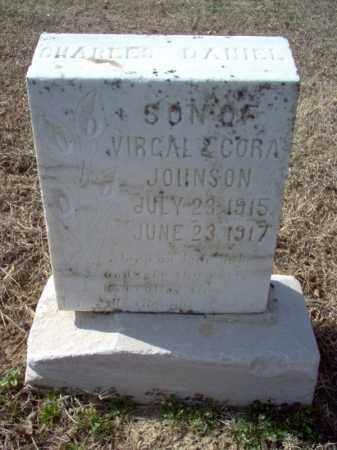 JOHNSON, CHARLES DANIEL - Cross County, Arkansas   CHARLES DANIEL JOHNSON - Arkansas Gravestone Photos