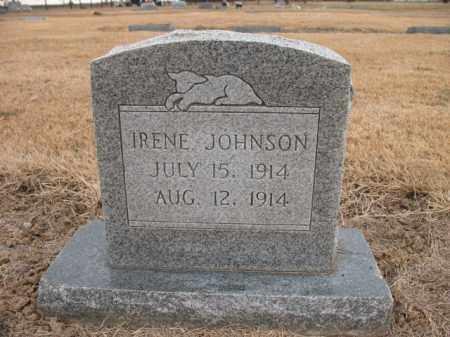 JOHNSON, IRENE - Cross County, Arkansas | IRENE JOHNSON - Arkansas Gravestone Photos