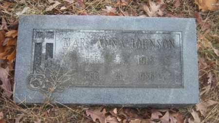 JOHNSON, MARY ANNA - Cross County, Arkansas | MARY ANNA JOHNSON - Arkansas Gravestone Photos