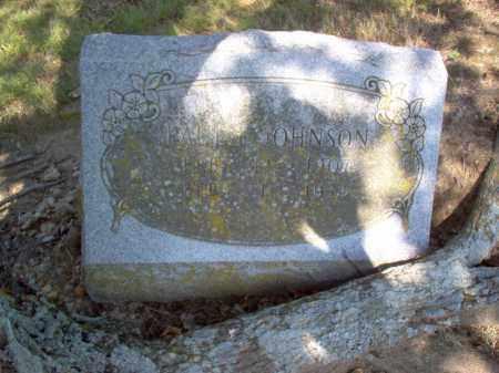 JOHNSON, PAUL F - Cross County, Arkansas | PAUL F JOHNSON - Arkansas Gravestone Photos
