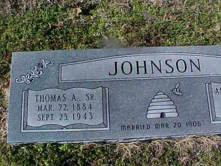 JOHNSON, SR, THOMAS A - Cross County, Arkansas | THOMAS A JOHNSON, SR - Arkansas Gravestone Photos