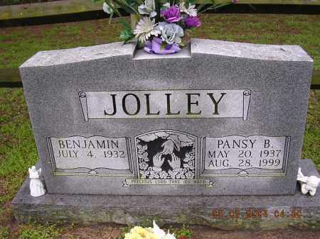 JOLLEY, PANSY B - Cross County, Arkansas   PANSY B JOLLEY - Arkansas Gravestone Photos