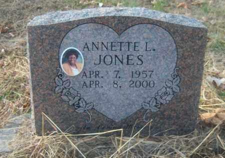 JONES, ANNETTE L - Cross County, Arkansas   ANNETTE L JONES - Arkansas Gravestone Photos