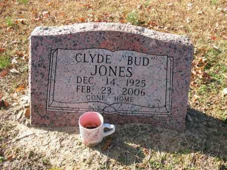 "JONES, CLYDE O'DELL ""BUD"" - Cross County, Arkansas   CLYDE O'DELL ""BUD"" JONES - Arkansas Gravestone Photos"