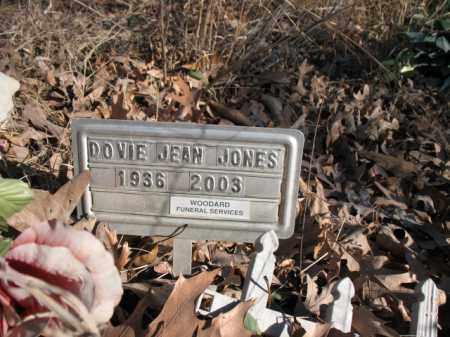 JONES, DOVIE JEAN - Cross County, Arkansas   DOVIE JEAN JONES - Arkansas Gravestone Photos