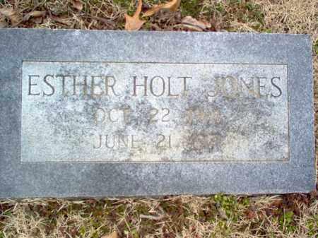 JONES, ESTHER - Cross County, Arkansas | ESTHER JONES - Arkansas Gravestone Photos