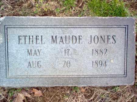 JONES, ETHEL MAUDE - Cross County, Arkansas | ETHEL MAUDE JONES - Arkansas Gravestone Photos