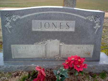 JONES, MARY A - Cross County, Arkansas | MARY A JONES - Arkansas Gravestone Photos