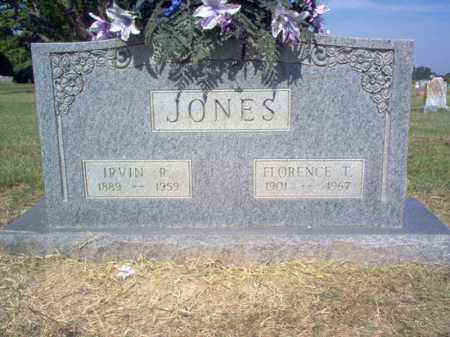 JONES, IRVIN R - Cross County, Arkansas | IRVIN R JONES - Arkansas Gravestone Photos