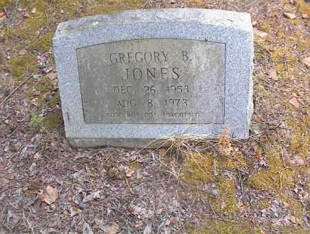 JONES, GREGORY B - Cross County, Arkansas | GREGORY B JONES - Arkansas Gravestone Photos