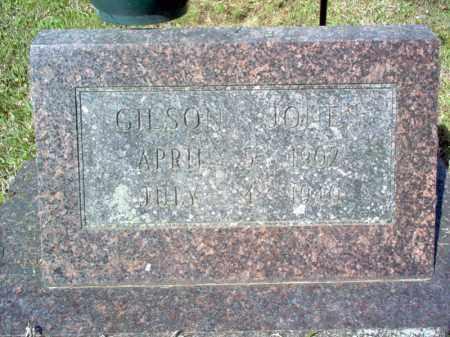JONES, GILSON - Cross County, Arkansas   GILSON JONES - Arkansas Gravestone Photos