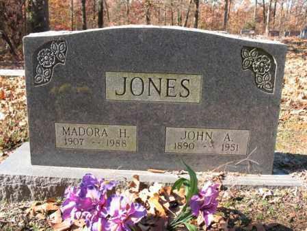 JONES, JOHN A. - Cross County, Arkansas | JOHN A. JONES - Arkansas Gravestone Photos