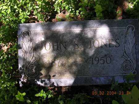 JONES, JOHN S - Cross County, Arkansas | JOHN S JONES - Arkansas Gravestone Photos