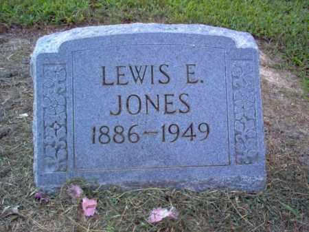 JONES, LEWIS E - Cross County, Arkansas | LEWIS E JONES - Arkansas Gravestone Photos