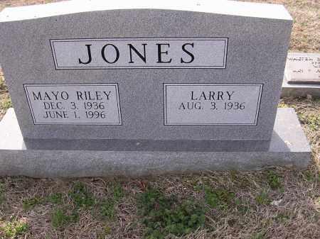 RILEY JONES, MAYO - Cross County, Arkansas | MAYO RILEY JONES - Arkansas Gravestone Photos