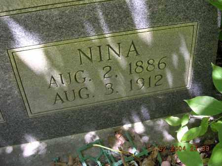 MILTON JONES, NINA - Cross County, Arkansas | NINA MILTON JONES - Arkansas Gravestone Photos