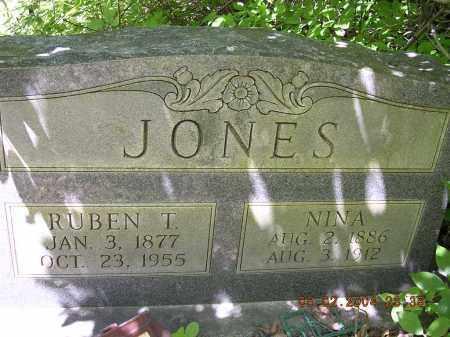 JONES, RUBEN T - Cross County, Arkansas | RUBEN T JONES - Arkansas Gravestone Photos