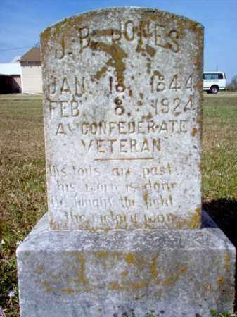JONES (VETERAN CSA), JOHN BAILEY - Cross County, Arkansas   JOHN BAILEY JONES (VETERAN CSA) - Arkansas Gravestone Photos