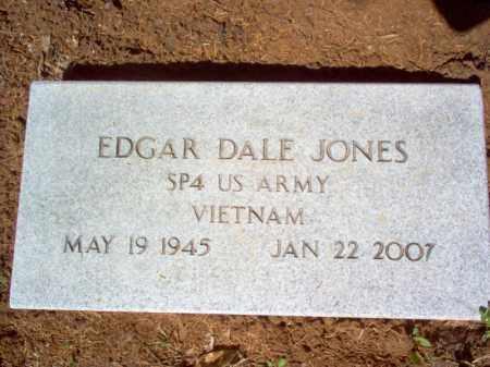 JONES (VETERAN VIET), EDGAR DALE - Cross County, Arkansas | EDGAR DALE JONES (VETERAN VIET) - Arkansas Gravestone Photos