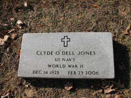 JONES (VETERAN WWII), CLYDE O'DELL - Cross County, Arkansas | CLYDE O'DELL JONES (VETERAN WWII) - Arkansas Gravestone Photos