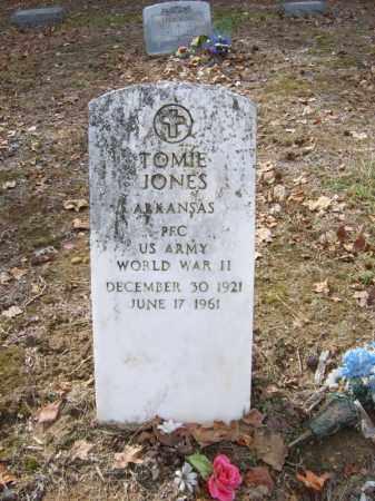 JONES (VETERAN WWII), TOMIE - Cross County, Arkansas   TOMIE JONES (VETERAN WWII) - Arkansas Gravestone Photos
