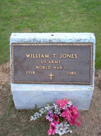 JONES, SR (VETERAN WWII), WILLIAM THOMAS - Cross County, Arkansas | WILLIAM THOMAS JONES, SR (VETERAN WWII) - Arkansas Gravestone Photos