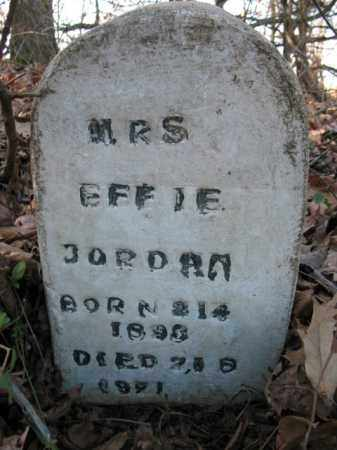 JORDAN, EFFIE - Cross County, Arkansas | EFFIE JORDAN - Arkansas Gravestone Photos