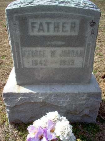JORDAN, GEORGE W. - Cross County, Arkansas | GEORGE W. JORDAN - Arkansas Gravestone Photos