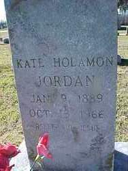 HOLAMON JORDAN, KATHERINE - Cross County, Arkansas | KATHERINE HOLAMON JORDAN - Arkansas Gravestone Photos
