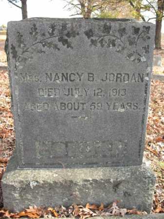 JORDAN, NANCY B. - Cross County, Arkansas | NANCY B. JORDAN - Arkansas Gravestone Photos