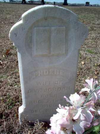 JORDAN, PHOEBE - Cross County, Arkansas   PHOEBE JORDAN - Arkansas Gravestone Photos
