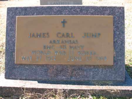 JUMP (VETERAN 2 WARS), JAMES CARL - Cross County, Arkansas   JAMES CARL JUMP (VETERAN 2 WARS) - Arkansas Gravestone Photos