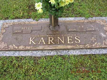 KARNES, J B - Cross County, Arkansas | J B KARNES - Arkansas Gravestone Photos