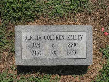 COLDREN KELLEY, BERTHA ELDONNA - Cross County, Arkansas | BERTHA ELDONNA COLDREN KELLEY - Arkansas Gravestone Photos