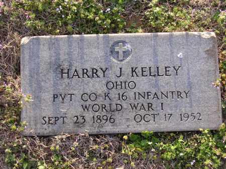 KELLEY  (VETERAN WWI), HARRY J - Cross County, Arkansas   HARRY J KELLEY  (VETERAN WWI) - Arkansas Gravestone Photos